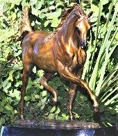 Arabian Dream Bronze Sculpture 2010 14 in Sculpture by J. Anne Butler - 1