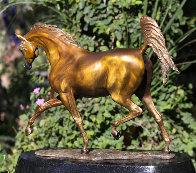 Arabian Dream Bronze Sculpture 2010 14 in Sculpture by J. Anne Butler - 2