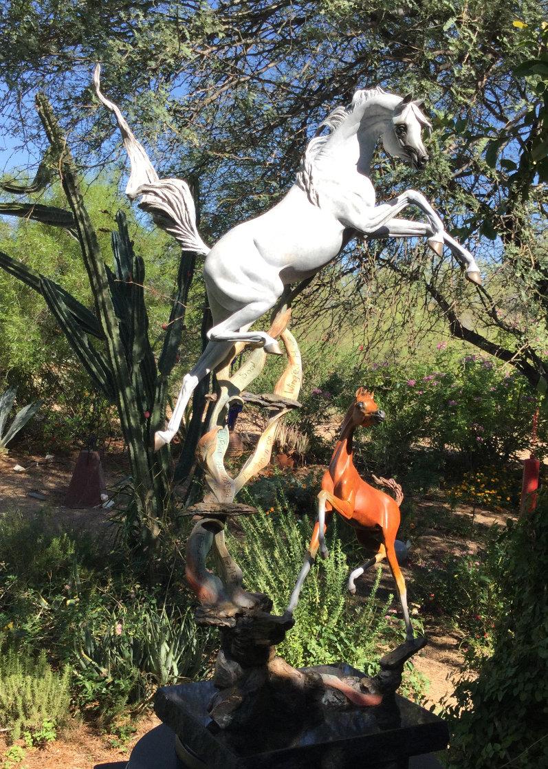 Born to Dance Bronze Sculpture 2018 28 in Sculpture by J. Anne Butler