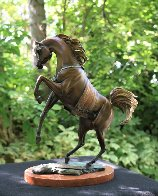 Legend Bronze Sculpture 16 in Sculpture by J. Anne Butler - 1