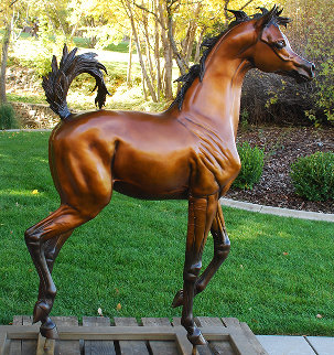 Dream of Spring Bronze Sculpture 2014 63 in Sculpture - J. Anne Butler