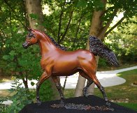 Supreme Stallion Bronze Sculpture 2012 18 in Sculpture by J. Anne Butler - 3