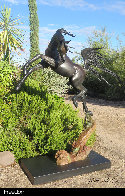 Freedom - Life Size Equine Bronze Sculpture 2017 76 in Sculpture by J. Anne Butler - 1