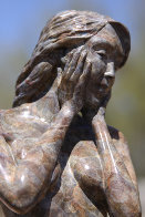 Grace Female Nude Bronze Sculpture 17 in Sculpture by J. Anne Butler - 3