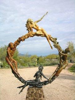 Seasons Bronze Sculpture AP 72 in Sculpture by J. Anne Butler