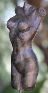 Nude Female Torso Bronze Sculpture 2002  Sculpture by J. Anne Butler