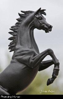 Cavallino Rampante / Prancing Horse Bronze Sculpture 2015 16 in Sculpture - J. Anne Butler