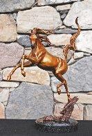 Sunshine Dancer Equine Bronze Sculpture 2015 16 in Sculpture by J. Anne Butler - 1