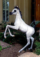 Layla B  Equine Life Size Horse Bronze 2016 72 in Sculpture by J. Anne Butler - 0