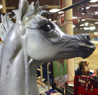Layla B  Equine Life Size Horse Bronze 2016 72 in Sculpture by J. Anne Butler - 5