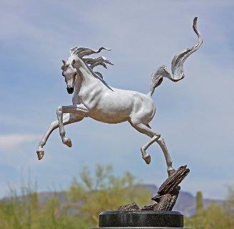 Sunshine Dancer - Bronze Equine Sculpture  2016 16 in Sculpture by J. Anne Butler