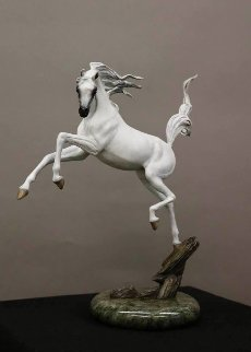 Sunshine Dancer - Bronze Equine Sculpture  2016 16 in Sculpture - J. Anne Butler