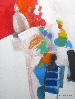 Tarot Original Painting - Jan Peter van Opheusden