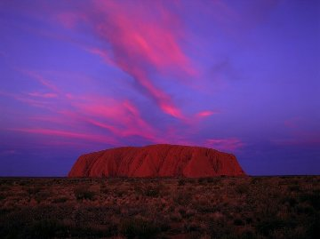 Uluru Sunset (Ayers Rock) Australia Panorama - Peter  Jarver