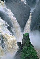 Barron Falls Panorama by Peter  Jarver - 0