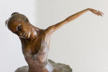 Petite Danseuse Bronze Sculpture 1997 24 in Sculpture - Mario Jason