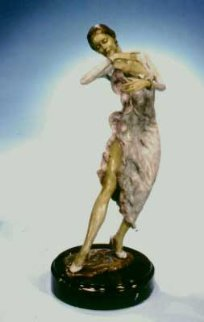 Flamenco Bronze Sculpture 1998 22 in Sculpture - Mario Jason