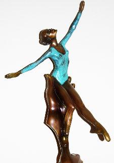 Inspiration Bronze Sculpture 1987 29 in Sculpture by Mario Jason