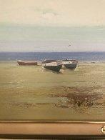 Morning Haze 2003 14x30 Original Painting by Jose Barbera - 5
