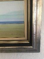 Morning Haze 2003 14x30 Original Painting by Jose Barbera - 4