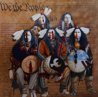 We the People 1996 Limited Edition Print - J.D. Challenger