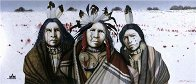 Ghost Dance in the Snow 2001 Limited Edition Print by J.D. Challenger - 2
