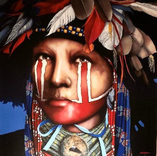 Remembering the Sacred Ways 2000 Limited Edition Print by J.D. Challenger