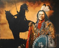 Ghost Dance Revelations 1998 Limited Edition Print by J.D. Challenger - 2