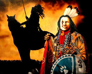 Ghost Dance Revelations 1998 Limited Edition Print by J.D. Challenger