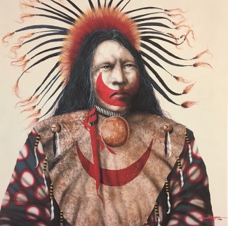 Red Moon 1998 Limited Edition Print by J.D. Challenger