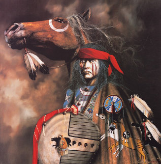 War Ponies 2000 Limited Edition Print by J.D. Challenger