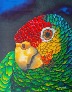 Parrot Limited Edition Print by Daniel Jean-Baptiste