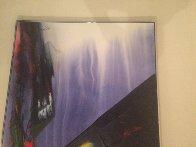 Phenomena Shaman Turn 1987 52x39 Super Huge Original Painting by Paul Jenkins - 5