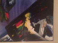 Phenomena Shaman Turn 1987 52x39 Super Huge Original Painting by Paul Jenkins - 6