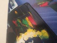 Phenomena Shaman Turn 1987 52x39 Super Huge Original Painting by Paul Jenkins - 3