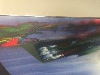 Phenomena Shaman Turn 1987 52x39 Super Huge Original Painting by Paul Jenkins - 4