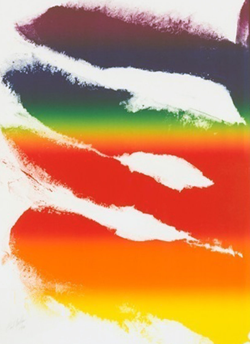 Phenomena Tibetan Ladder 1980 Limited Edition Print by Paul Jenkins