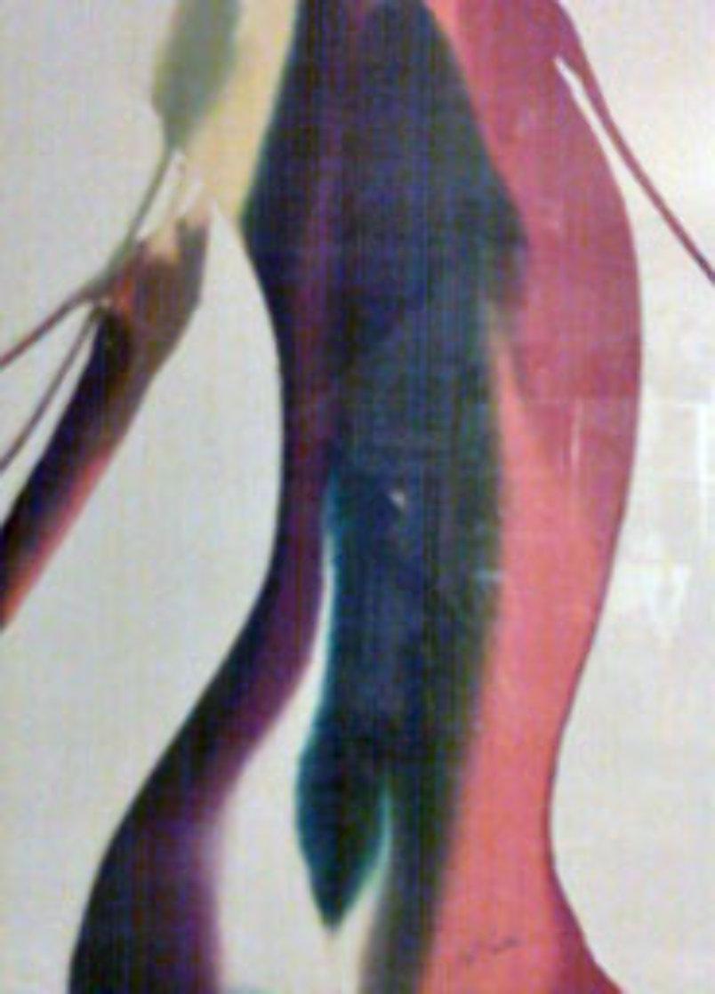 Phenomena Salome Slope Watercolor 1973 30x23 Watercolor by Paul Jenkins