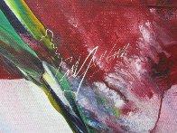 Phenomena Visor Star 1981 37x41 Super Huge Original Painting by Paul Jenkins - 3