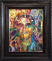 Christ Montage 2017 22x28 Original Painting by Jerry Blank - 1
