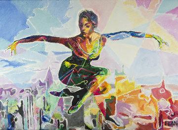 Celebration 2016 34x52 Super Huge Original Painting - Jerry Blank
