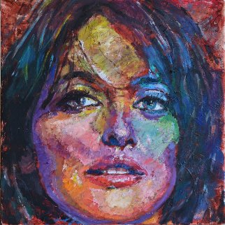 Penelope 2014 20x20 Original Painting by Jerry Blank