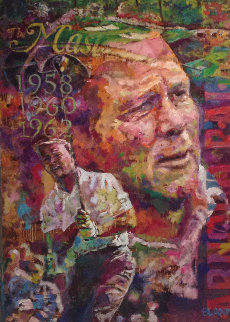 Nicklaus And Palmer, Set of 2   Paintings 2012 28x40 Original Painting by Jerry Blank