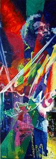 Charles Mingus 2007 72x26 Original Painting - Jerry Blank