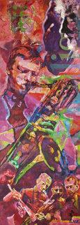 Gerry Mulligan 2009 72x26 Original Painting by Jerry Blank