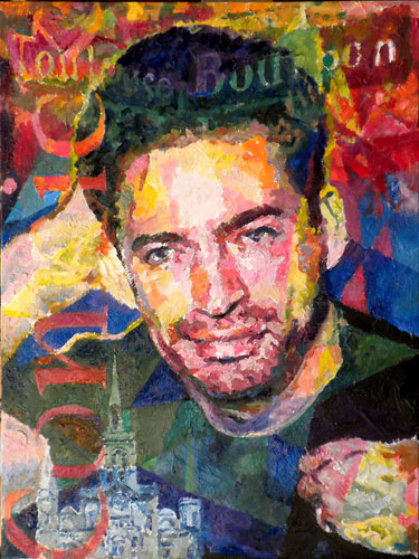 Harry Connick 2010 American Idol 24x18 Original Painting by Jerry Blank