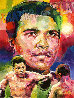 Muhammad Ali Versus Joe Frasier 2009 24x20 Original Painting by Jerry Blank - 0