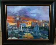 Venetian Hotel 2004 Huge Limited Edition Print by Jerry Blank - 1