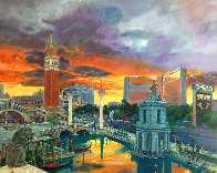 Venetian Hotel 2004 Huge Limited Edition Print by Jerry Blank - 0