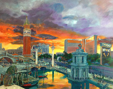 Venetian Hotel 2004 Huge Limited Edition Print - Jerry Blank